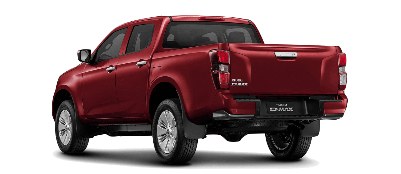 ISUZU_D-Max_Red-Spinel-Mica_Back