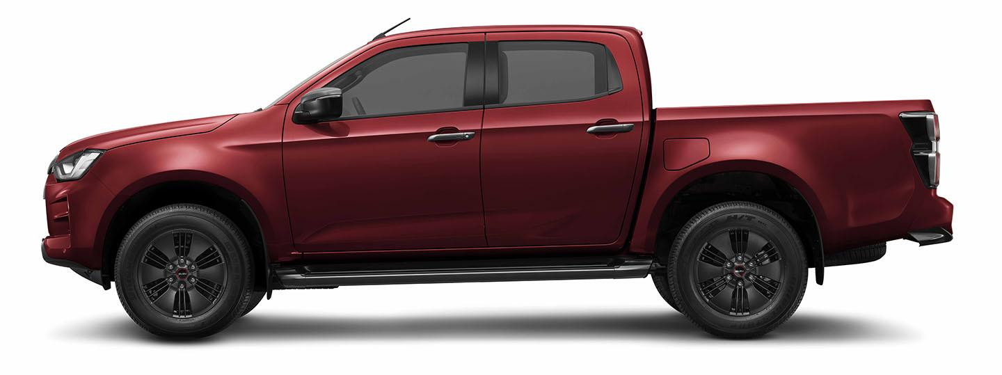 ISUZU D-Max Red Spinel Mica