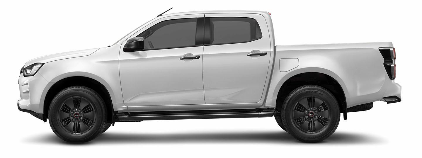 ISUZU D-Max Splash White Crew