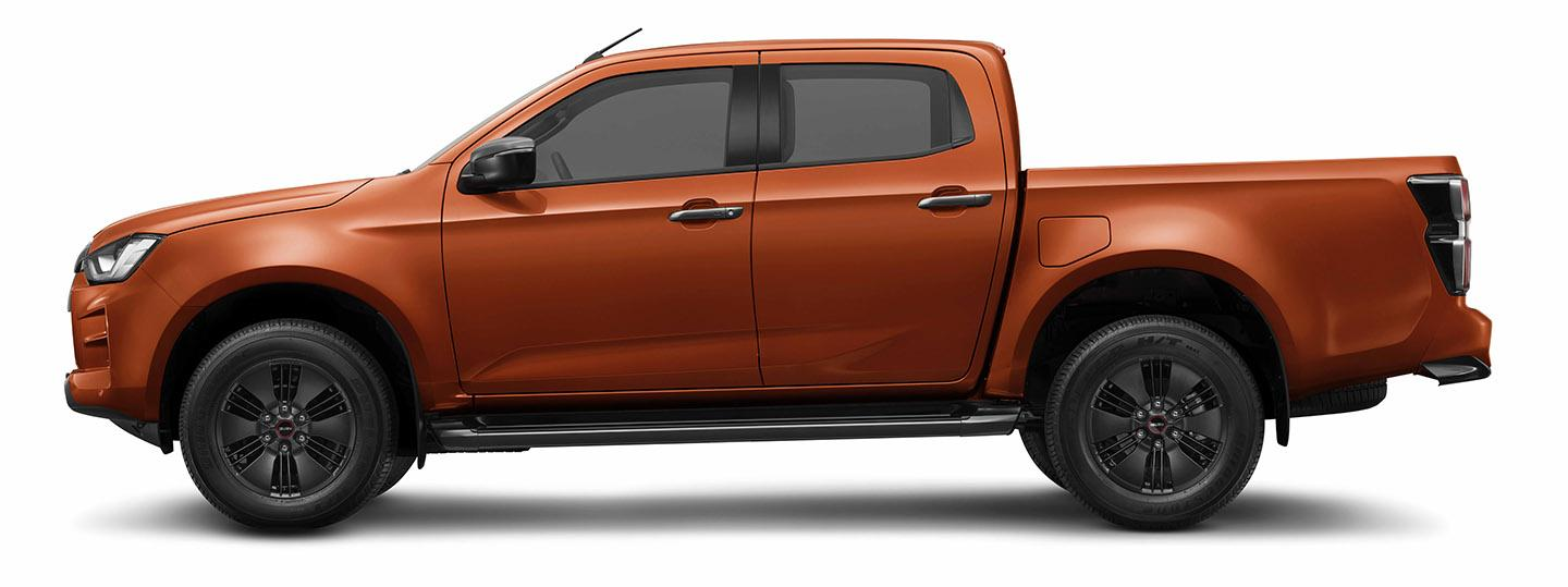 ISUZU D-Max Valencia orange Metallic