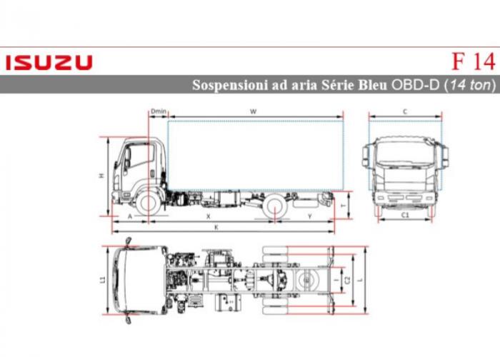 Listino Isuzu F14 Ton Sosp.pneumatiche
