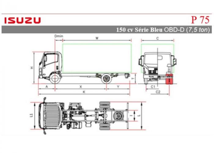 Listino Isuzu P75 150cv
