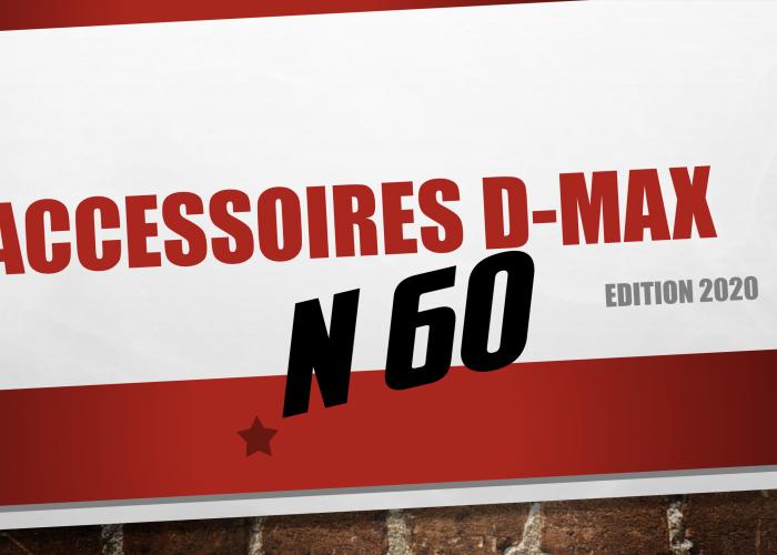 Catalogue accessoires Isuzu D-Max