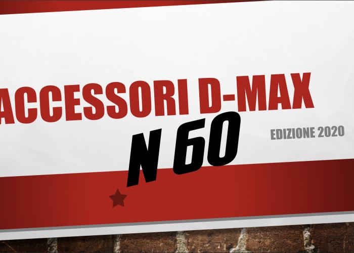 Catalogo Accessori D-Max edizione 2020