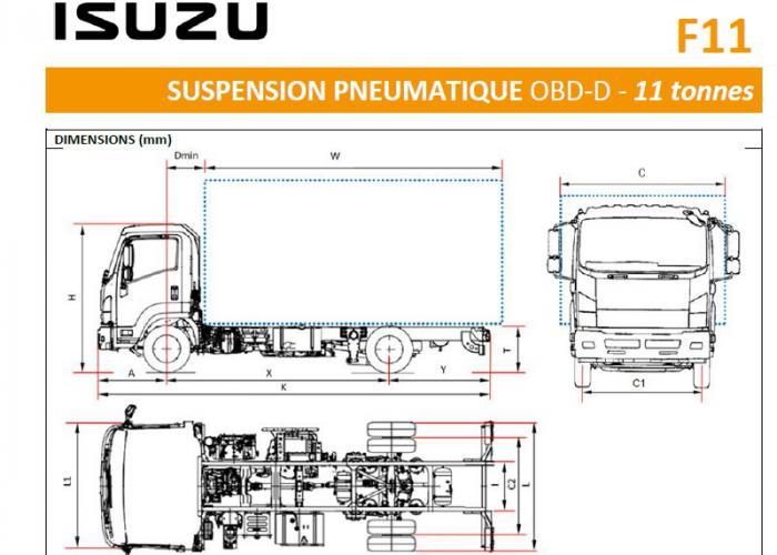 Catalogue Isuzu F11 Susp. Pneu.