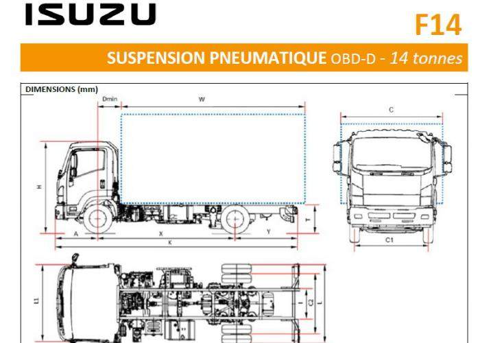 Catalogue Isuzu F14 Susp. Pneu.