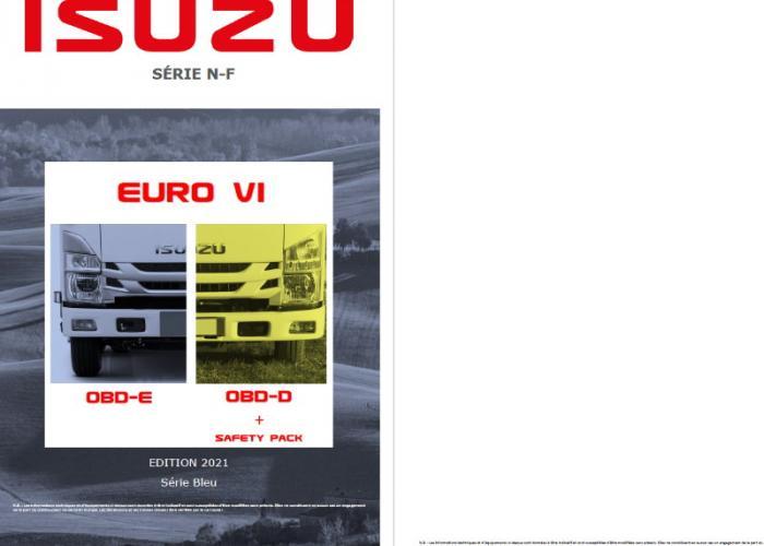 Catalogue et prix tarifs Série N-F Euro VI OBD-D Safety Pack et OBD-E