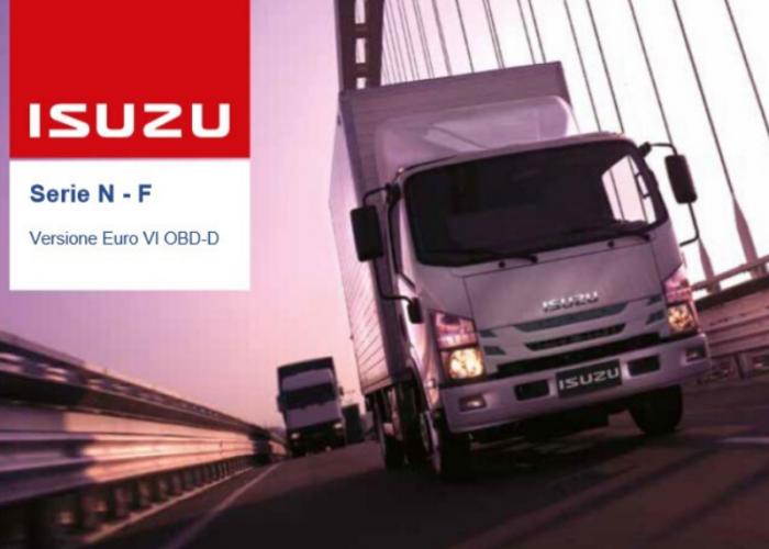 Catalogo e listino prezzi Isuzu Truck Versione Euro VI OBD-D, Febbraio 2020