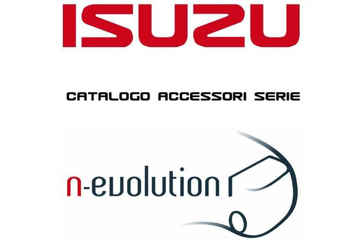 Isuzu Catalogo Accessori Truck 2018
