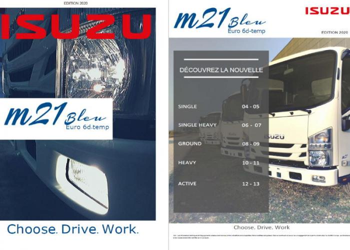 Catalogue Isuzu M21