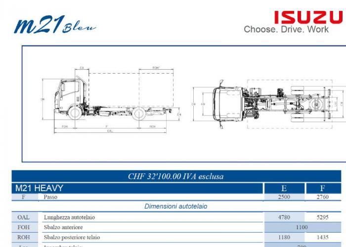 Isuzu M21 Heavy