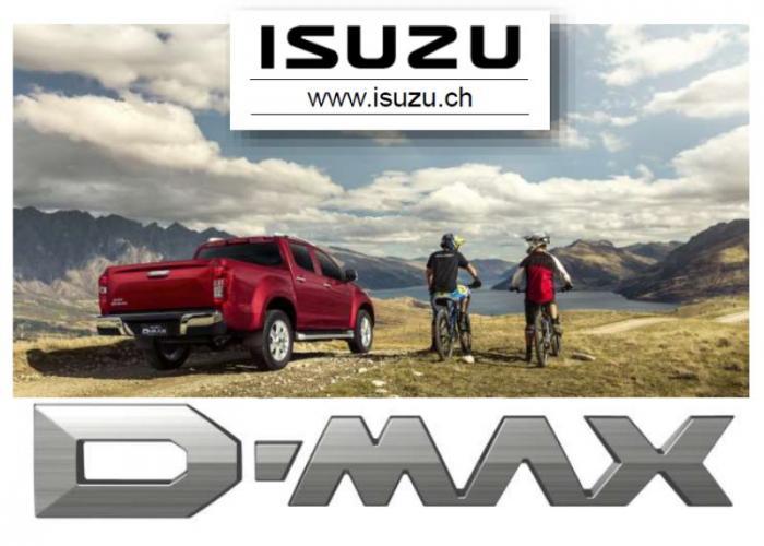 Brochure e listino prezzi Isuzu D-Max 2019