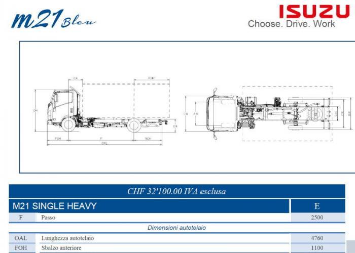 Isuzu M21 Single Heavy
