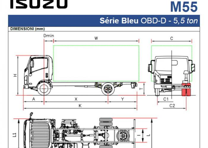 Listino Isuzu M55