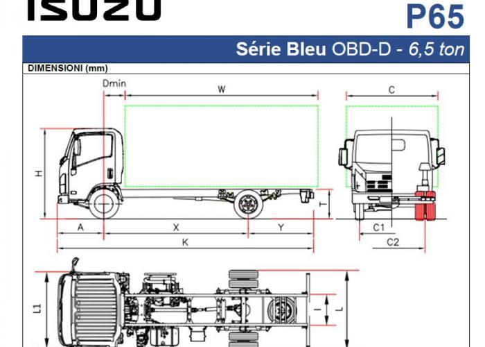 Catalogo Isuzu P65