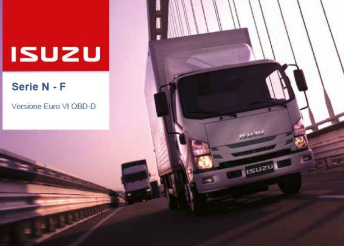 Catalogo e listino prezzi Isuzu Truck Versione Euro VI OBD-D, Settembre 2019